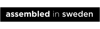 assembled in Sweden logo
